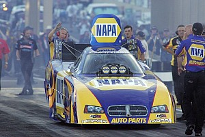 NHRA Qualifying report Capps, Langdon, Line and Hines earn top spots for final eliminations at Pomona