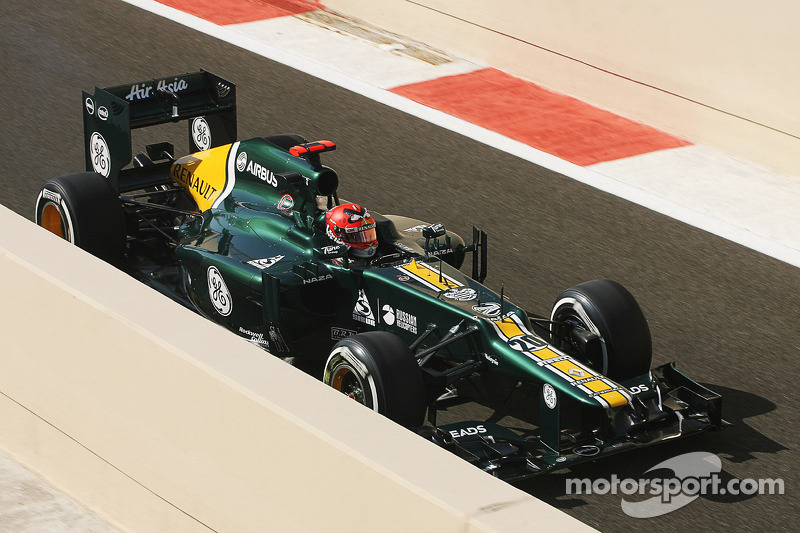 All the Caterham drivers are excited about getting on COTA track