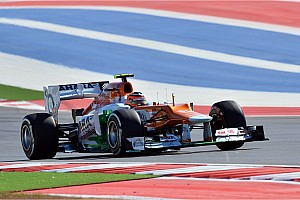 Formula 1 Qualifying report Another top ten result for Sahara Force India - Circuit of The Americas