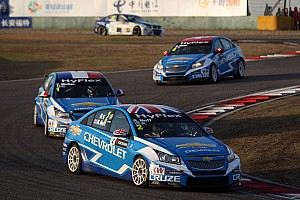 WTCC Race report Huff claims his first world title in Macau