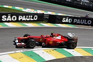 Formula 1 Qualifying report No surprises for Ferrari with qualifying results at Interlagos