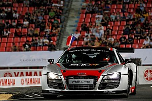 General Race report Audi's Kristensen finishes second in the Champion of Champions in Thailand