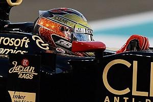 Formula 1 Breaking news Ticket to ride - Romain Grosjean confirmed for 2013