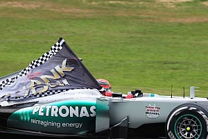 Top moments of 2012, #13: End of the Schumacher era, again
