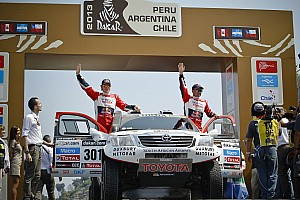 Dakar Stage report Team Toyota completes an easy stage 1 in Peru