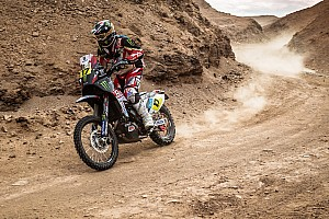 Dakar Stage report Botturi still up with the leaders in Dakar sixth stage