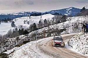 WRC Leg report Loeb grabs early lead in cold, snowy Rallye Monte Carlo