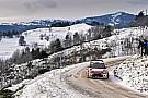 Loeb grabs early lead in cold, snowy Rallye Monte Carlo