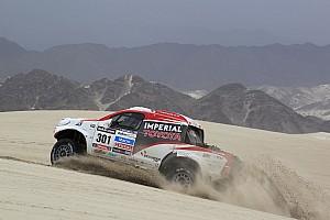 Dakar Race report De Villiers and Von Zitzewitz finish second in Dakar Rally