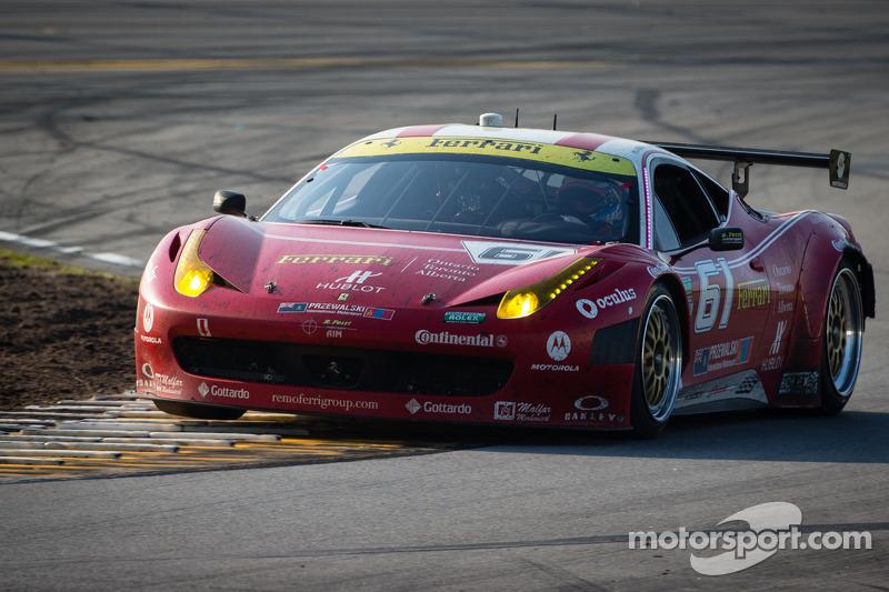 Jeff Segal battles through challenging Rolex 24 at Daytona weekend