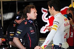 Formula 1 Interview Horner 'happy' with Webber after Marko spat
