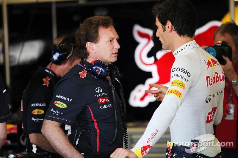 Horner 'happy' with Webber after Marko spat