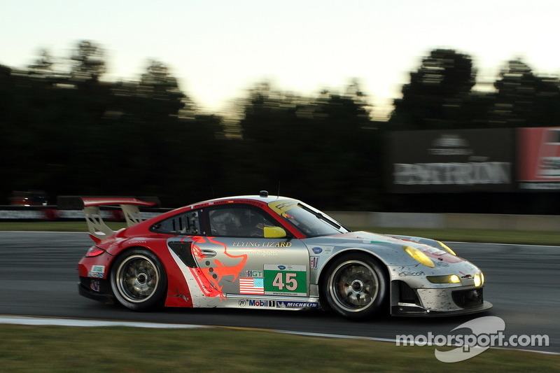Flying Lizard ready for winter testing, sets driver lineup