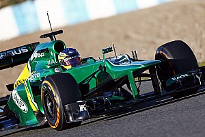 Formula 1 Testing report Caterham complete first test with 109 laps on final day at Jerez