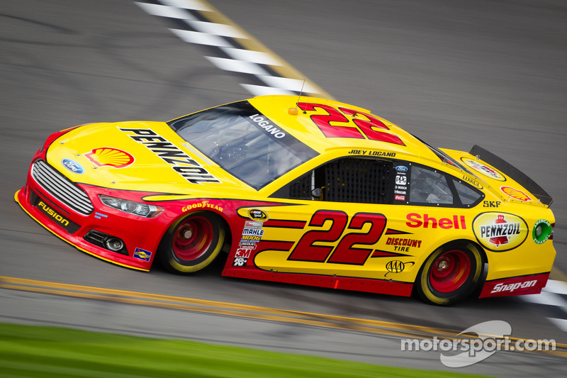 Joey Logano Prepared For First Start In Penske Ford At