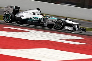 Formula 1 Testing report Hamilton ends Barcelona's first round of testing with fastest time