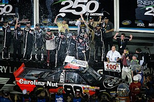 NASCAR Truck Race report Sauter kicks off 2013 with Daytona win