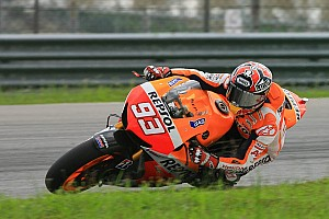MotoGP Testing report Pedrosa tests suspension on second day in Sepang