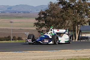 IndyCar Testing report Drivers have good testing day at Sonoma