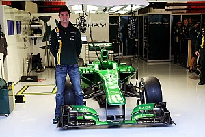 Formula 1 Breaking news Alexander Rossi confirmed as a reserve driver for Caterham