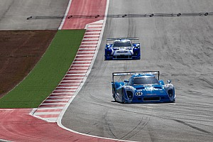 Grand-Am Race report Pruett and Rojas finished third in Round 2 at COTA
