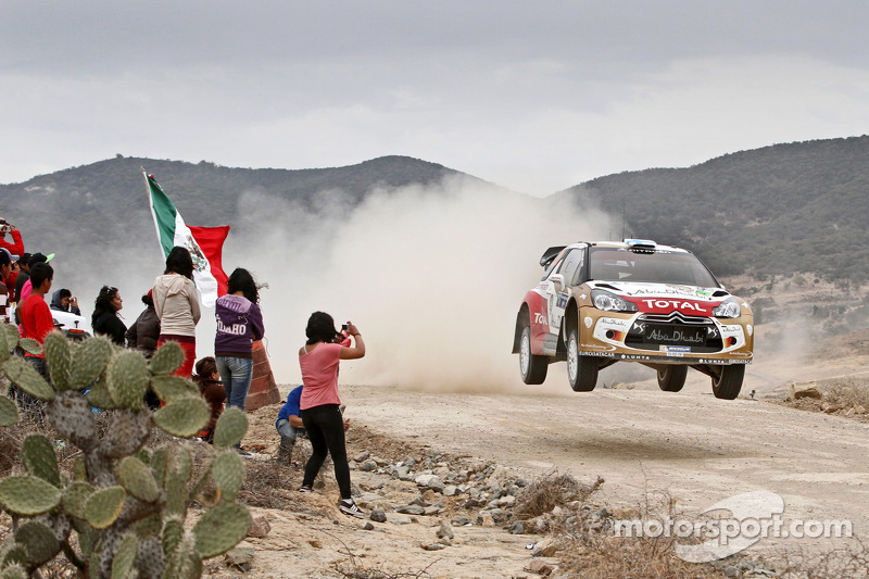 Citroen's Hirvonen sits second heading into final day of Rally Mexico