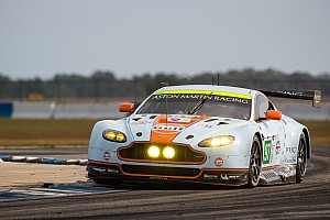 ALMS Qualifying report Aston Martin qualifies in third and fourth at Sebring