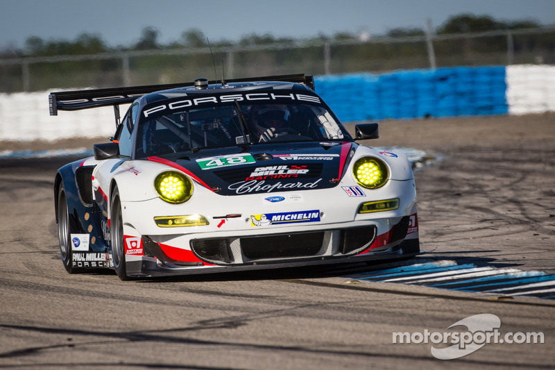 Paul Miller Racing's Holzer just misses GT front row at Sebring