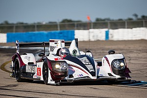 ALMS Race report Muscle Milk comebacks fall short of podium finish at Sebring