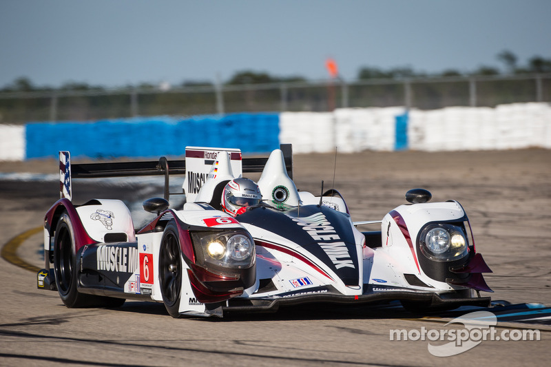 Muscle Milk comebacks fall short of podium finish at Sebring