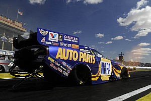 NHRA Race report Capps effort goes up in smoke but team maintains share of points lead