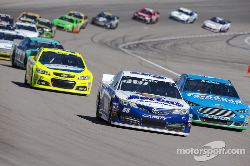 Mark Martin stays fit as he takes on the challenge in Fontana