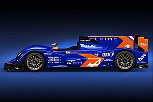 Le Mans Breaking news The Signatech-Alpine breaks cover