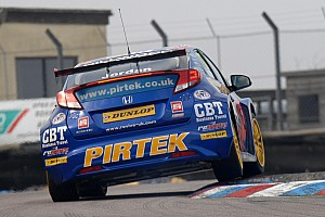 BTCC Testing report Andrew Jordan sets the pace at official BTCC test day