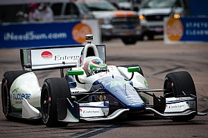 IndyCar Qualifying report De Silvestro will start third at St. Pete while Kanaan slots 11th for season opener