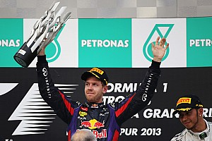 Formula 1 Race report Vettel uses three Pirelli compounds to claim Malaysia victory