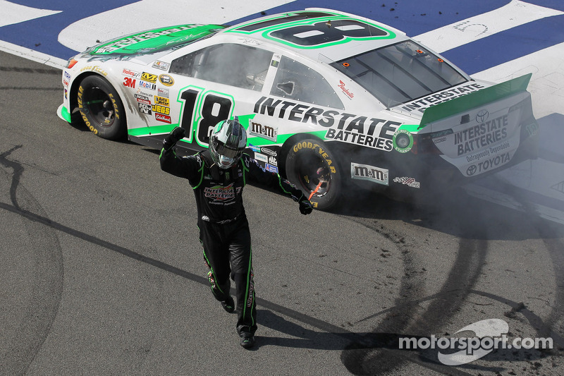 Kyle Busch: About 'Time' for a Martinsville win