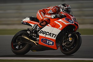 MotoGP Practice report Positive start for Ducati Team in Qatar