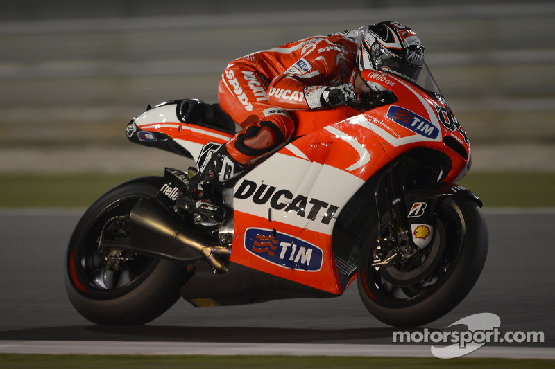 Positive start for Ducati Team in Qatar