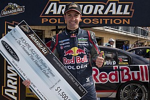 Supercars Qualifying report Whincup flies to Saturday pole position in Tasmania