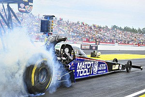 NHRA Qualifying report Brown on Las Vegas provisional pole on Friday qualifying
