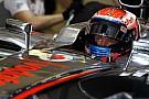 Magnussen is new McLaren reserve