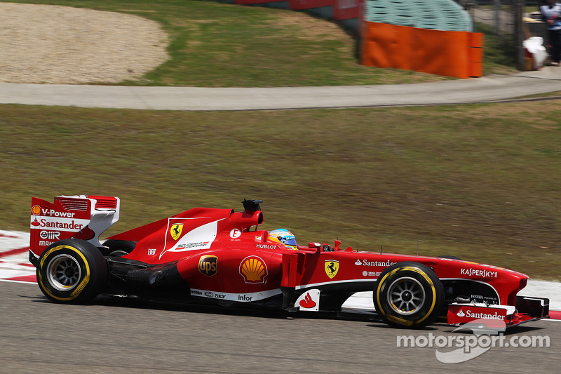 First win of the season for Ferrari on Chinese GP