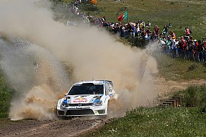 WRC Race report Third win of the season for Volkswagen's Ogier - Video