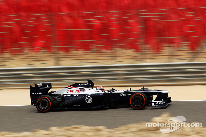 Williams F1 Team qualifying notes for Bahrain GP