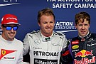Pole-position for Mercedes AMG Petronas driver Nico Rosberg at Bahrain