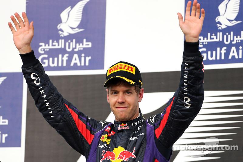 One more win for Infiniti Red Bull Racing at Bahrain