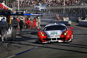ALMS Race report Alex Job Racing seventh in GT at Long Beach