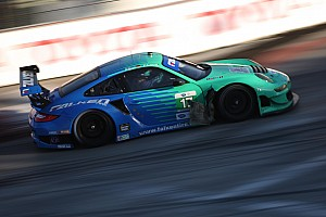 ALMS Race report GT class Porsches miss podium in Long Beach as fuel strategy