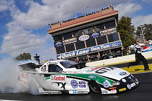 NHRA Race report John Force points battle tightens after Baytown SpringNationals